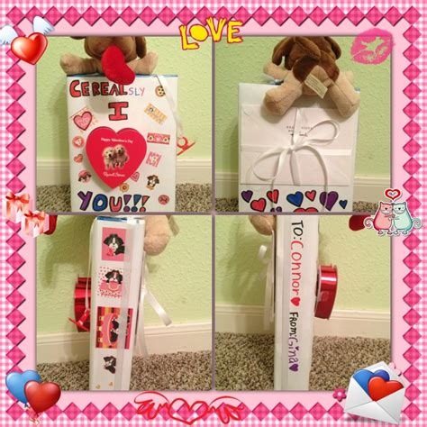 things to make your boyfriend on valentines day diy s day gift idea i got a a box of my
