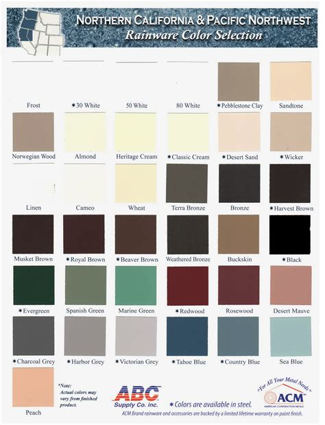 what color is aluminum sun paint color chart paint color ideas