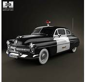 Mercury Eight Coupe Police 1949 3D Model  Humster3D