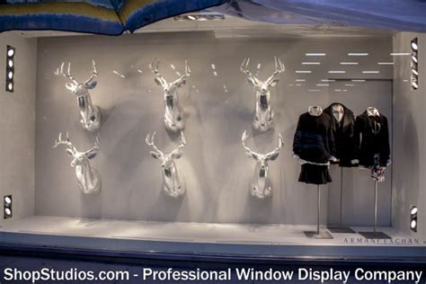 Estimate To Build A House Holiday Window Display