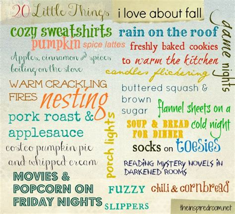 20 little things i love about fall by luvdrawing2 on deviantart