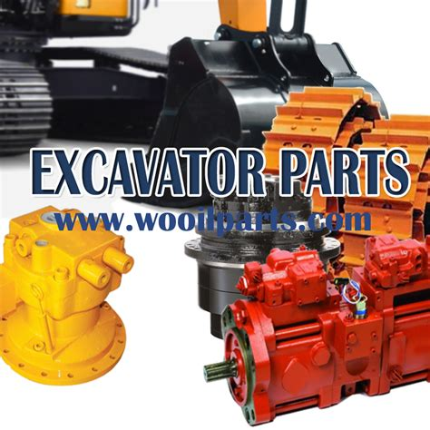Sparepart Excavator swing motor swing reduction spare parts excavator parts from wooil heavy equipment parts