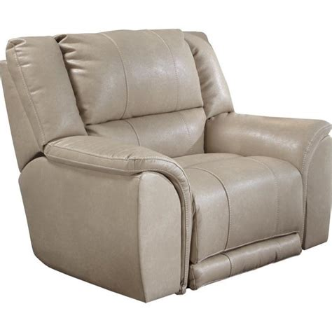 Lay Flat Recliner by Catnapper Carmine Lay Flat Power Leather Recliner In