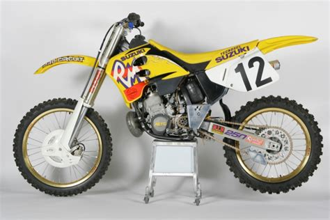 1993 Suzuki Rm250 This Week S Classic Steel Is A Look Back At The 1993