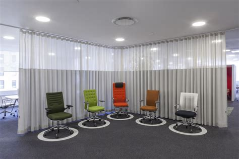 soundproof curtains nyc quiet down limit noise in open offices with acoustical sheers