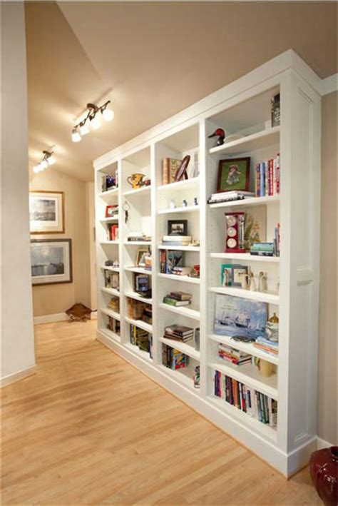 31 simple bookcases in hallways yvotube