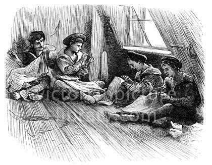 how to draw a victorian boy sewing victorian drawing of boys in naval uniform sitting