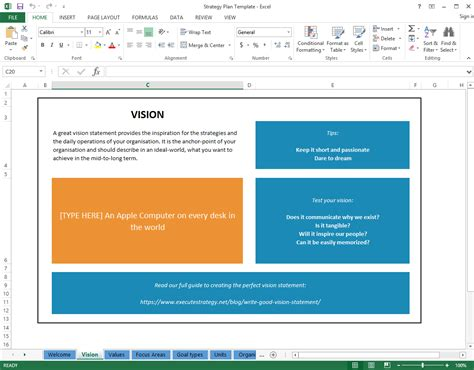 strategy template excel free strategic plan template cascade strategy