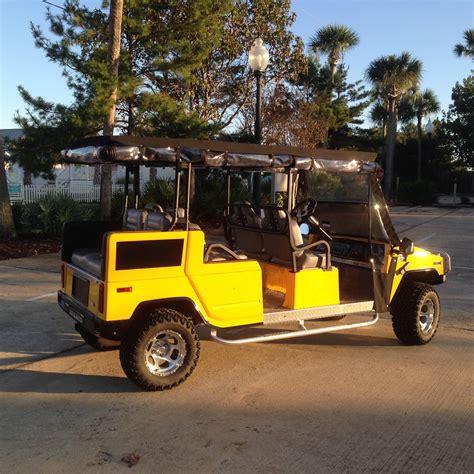 hummer golf cart buythiscart 2001 hummer golf cart bright yellow