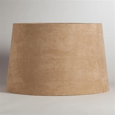 world market l shades natural suede floor l shade world market