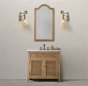 Vanities That Look Like Restoration Hardware Restoration Hardware Shutter Single Vanity Sink Decor