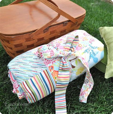 Diy Patchwork Blanket - diy patchwork picnic blanket centsational
