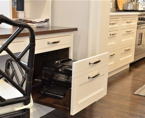 desk with printer cabinet 15 best ideas about printer storage on