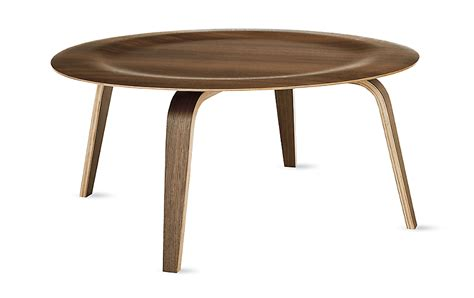 Eames Coffee Tables Eames Molded Plywood Coffee Table Wood Base Herman Miller