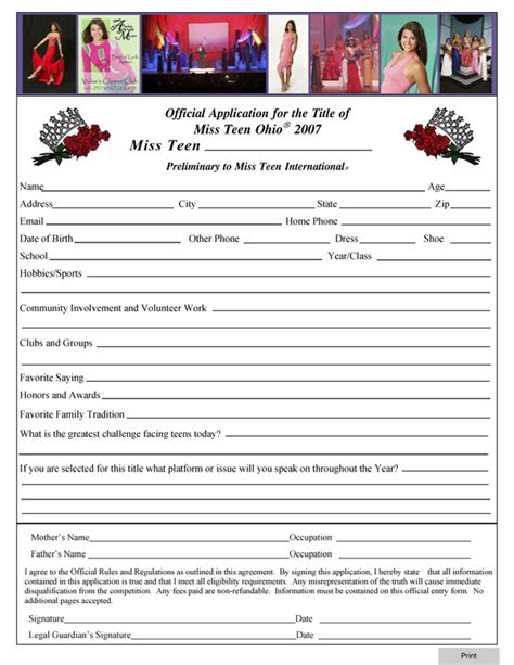 Entry Form Template Playbestonlinegames Free Printable Contest Entry Form Template