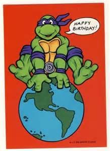 donatello birthday greeting card turtles tmnt