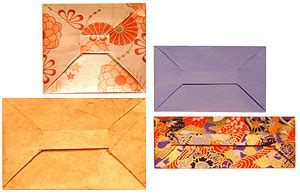 Origami Bar Envelope - origami envelopes