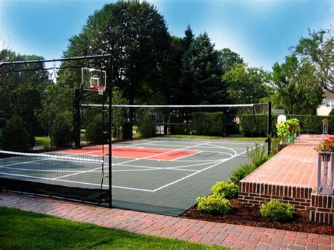 backyard volleyball court volleyball court neave sports