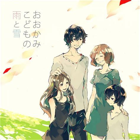ookami kodomo no ame to yuki wolf children