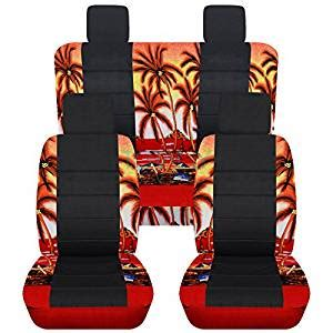 jeep wrangler seat covers hawaiian 2007 2010 jeep wrangler jk hawaiian black