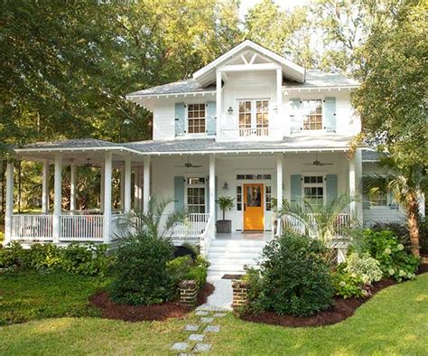 Large Front Porch House Plans by Beach Cottage Weekend Dreaming The Inspired Room