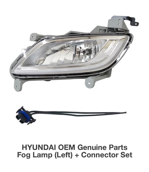2012 hyundai veloster fog lights oem genuine parts fog l light lh connector for