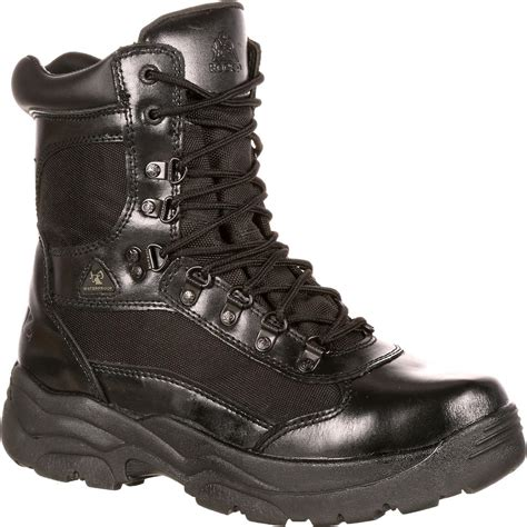rocky boots rocky fort black waterproof duty boots fq0002049