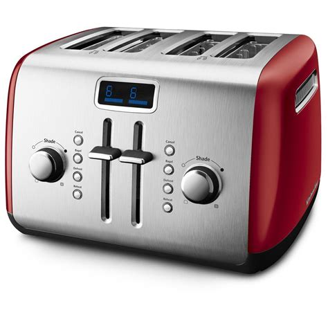 Kitchenaid Toaster Reviews 4 Slice kitchenaid kmt422er 4 slice toaster