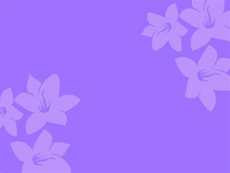 flowers powerpoint template purple flower backgrounds wallpaper cave