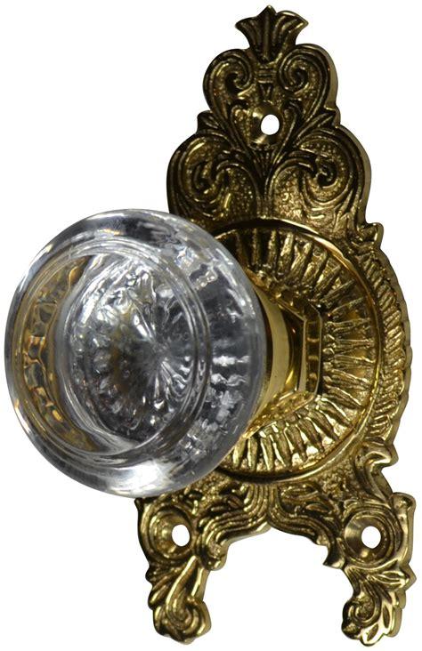 Ornate Door Knobs by Ornate Door Knob Set Polished