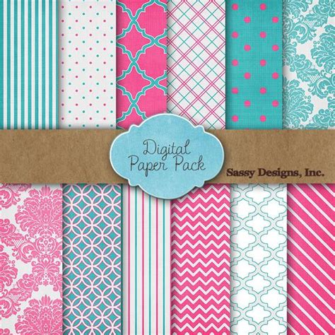 Free Craft Paper Downloads - free digital paper pack from pretty presets celebrating