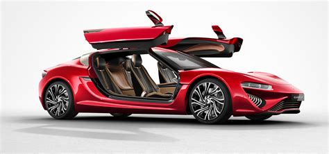 Quant Auto by Nanoflowcell Evs Featuring Flow Cell Batteries Driven By