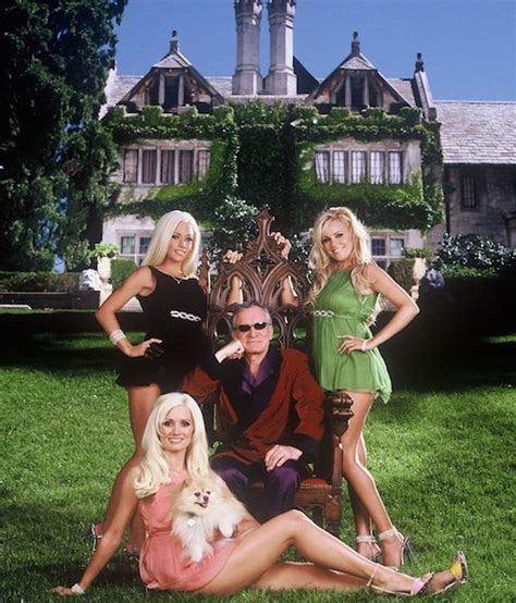 Hugh Hefner And On Baby Theres Been Lots Of Trying by Dlisted The Mansion Is Officially Owned By