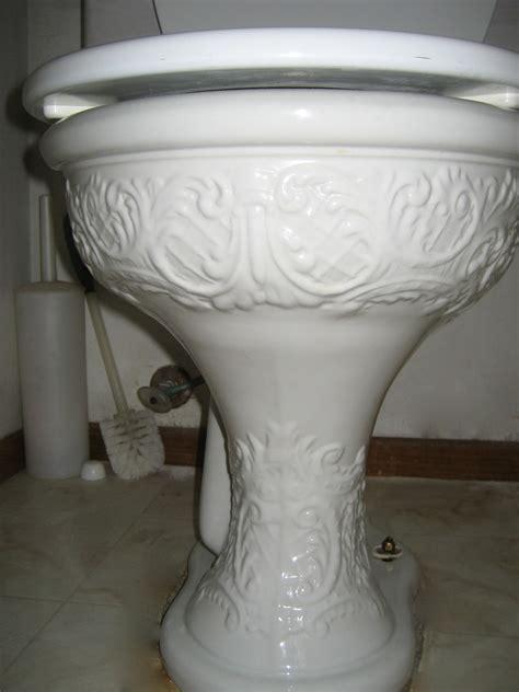 vintage era beautifully designed toilets