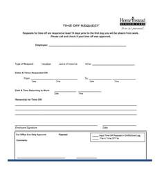 time request form template 40 effective time request forms templates