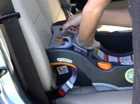 installing a car seat base chicco keyfit car seat installation