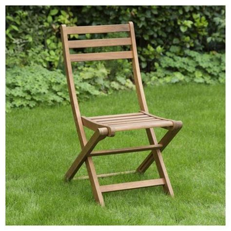 Tesco Bistro Chairs Buy Wooden Folding Garden Bistro Chair From Our Wooden Garden Furniture Range Tesco