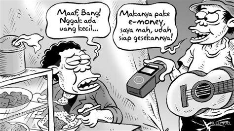 E Money Kartun berita terkini