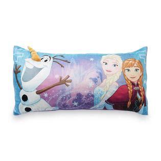 disney frozen toddler plush cushion bed rest pillow brand disney frozen plush body pillow elsa anna olaf kmart