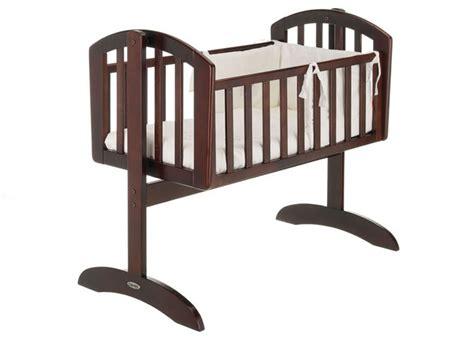 swinging cribs for babies o baby sophie swinging crib walnut