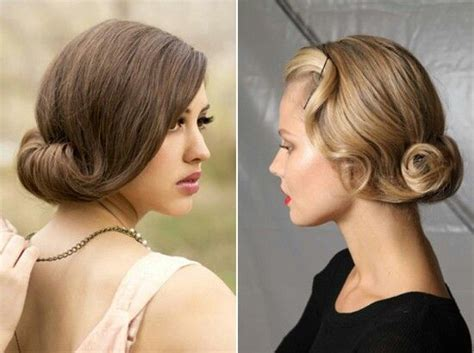 roaring twenties long hair style 1920 s hairstyles for long hair gatsby style vintage