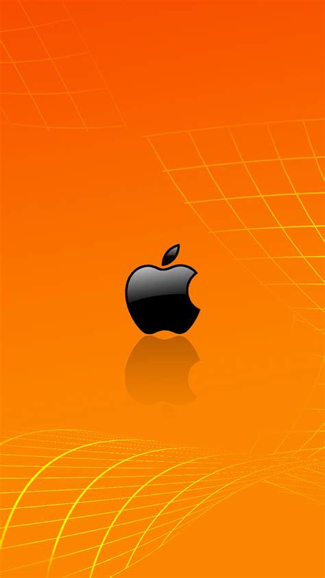 wallpaper apple orange orange apple wallpaper for iphone x 8 7 6 free