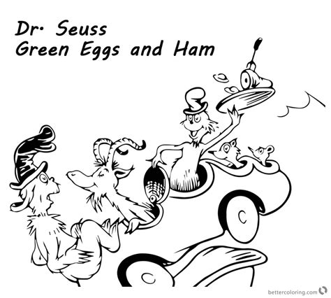 eggs and ham coloring page coloring page goat coloring pages ideas reviews