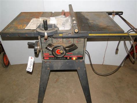 Table Saws At Sears by Sears 10 Quot Table Saw Model 113 295751