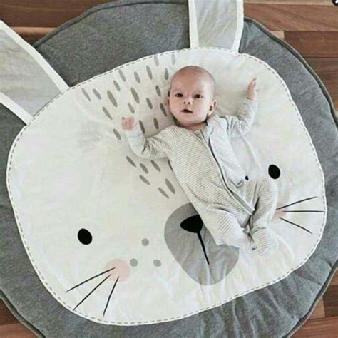 85cm black and white baby blanket inflant play mats