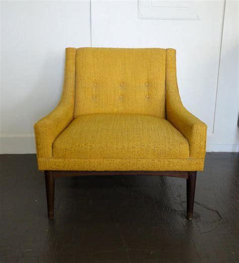 Yellow Club Chair Design Ideas Mid Century Modern House West