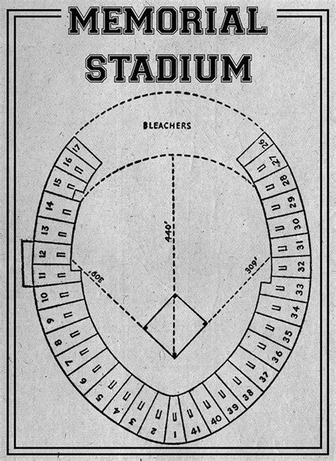 baltimore orioles memorial stadium seats print of vintage baltimore orioles memorial stadium