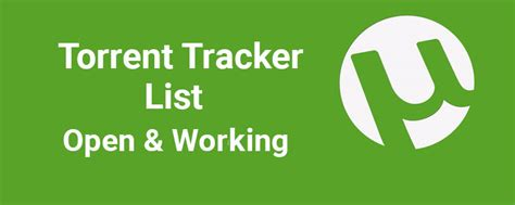 download torrents download torrent torrent tracker torrent tracker list may 2018 236 trackers to increase