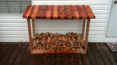 Firewood Rack With Roof Plans by 17 Best Images About Firewood Racks On Wood