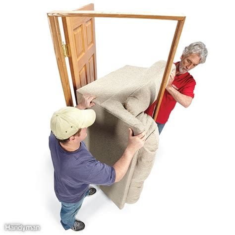 how to move a couch through a door 14 tips for moving furniture family handyman